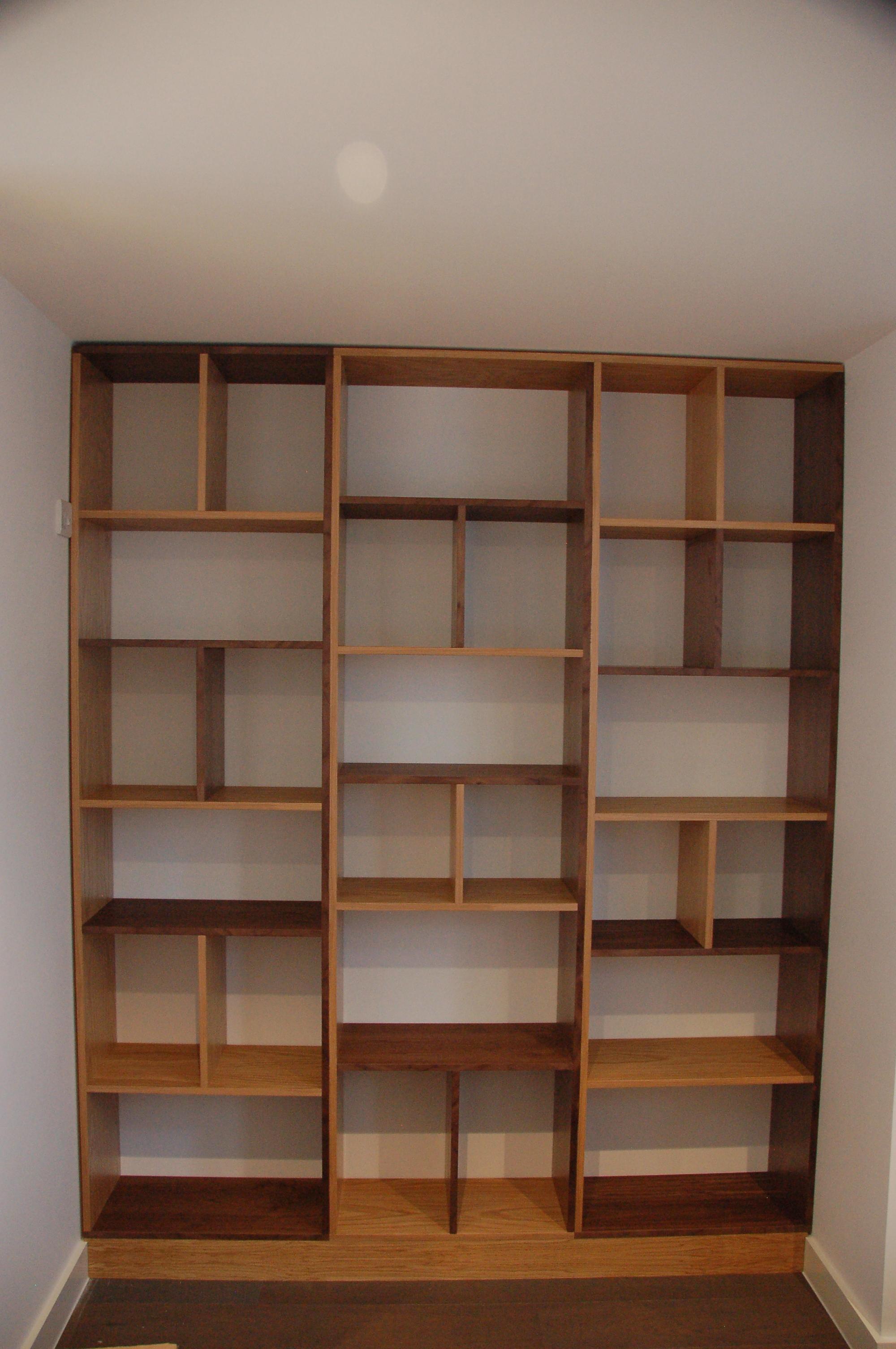 Popular Photo of Contemporary Oak Bookcase