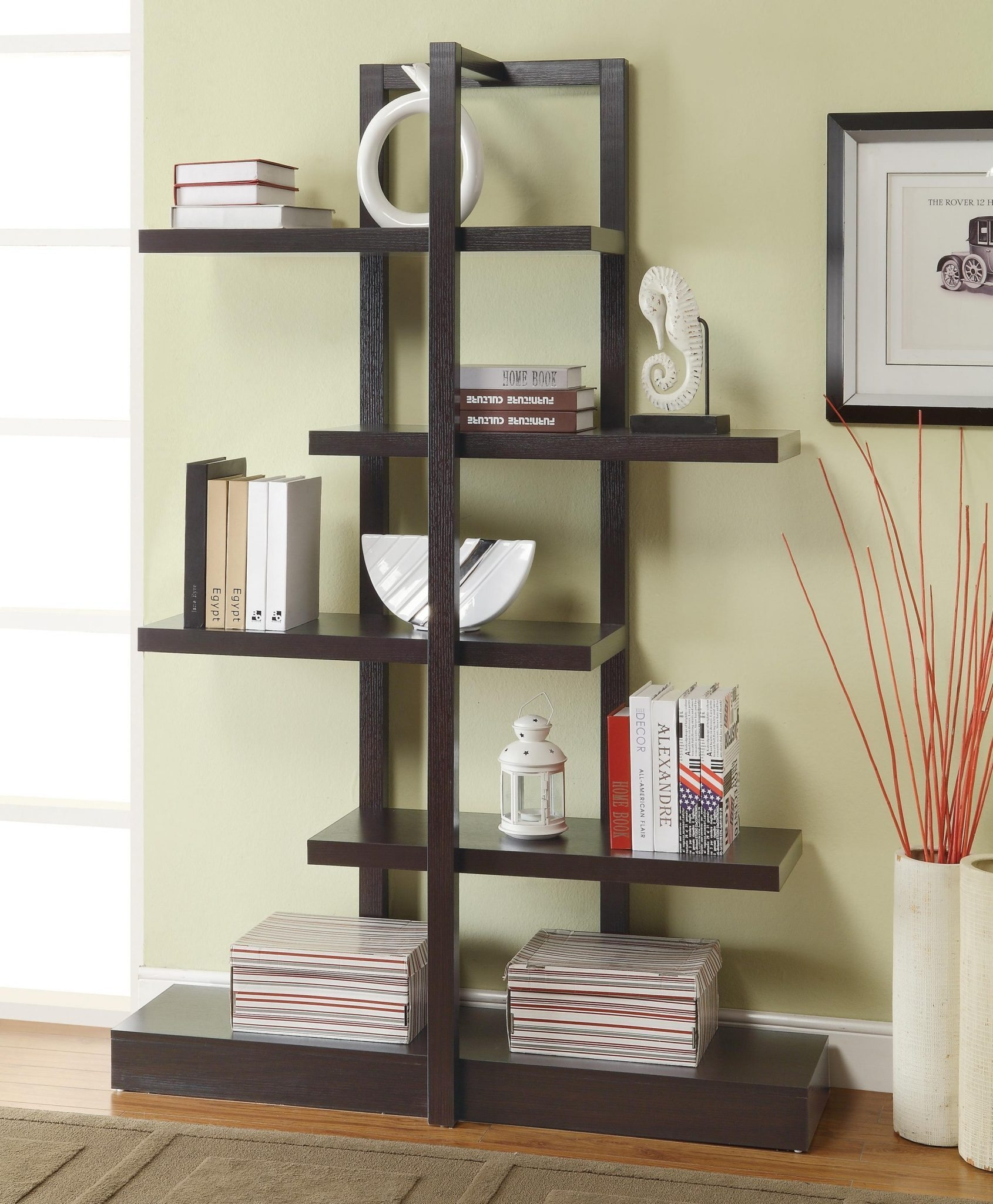 Contemporary Bookcases American Hwy With Regard To Contemporary Bookcases (#6 of 15)