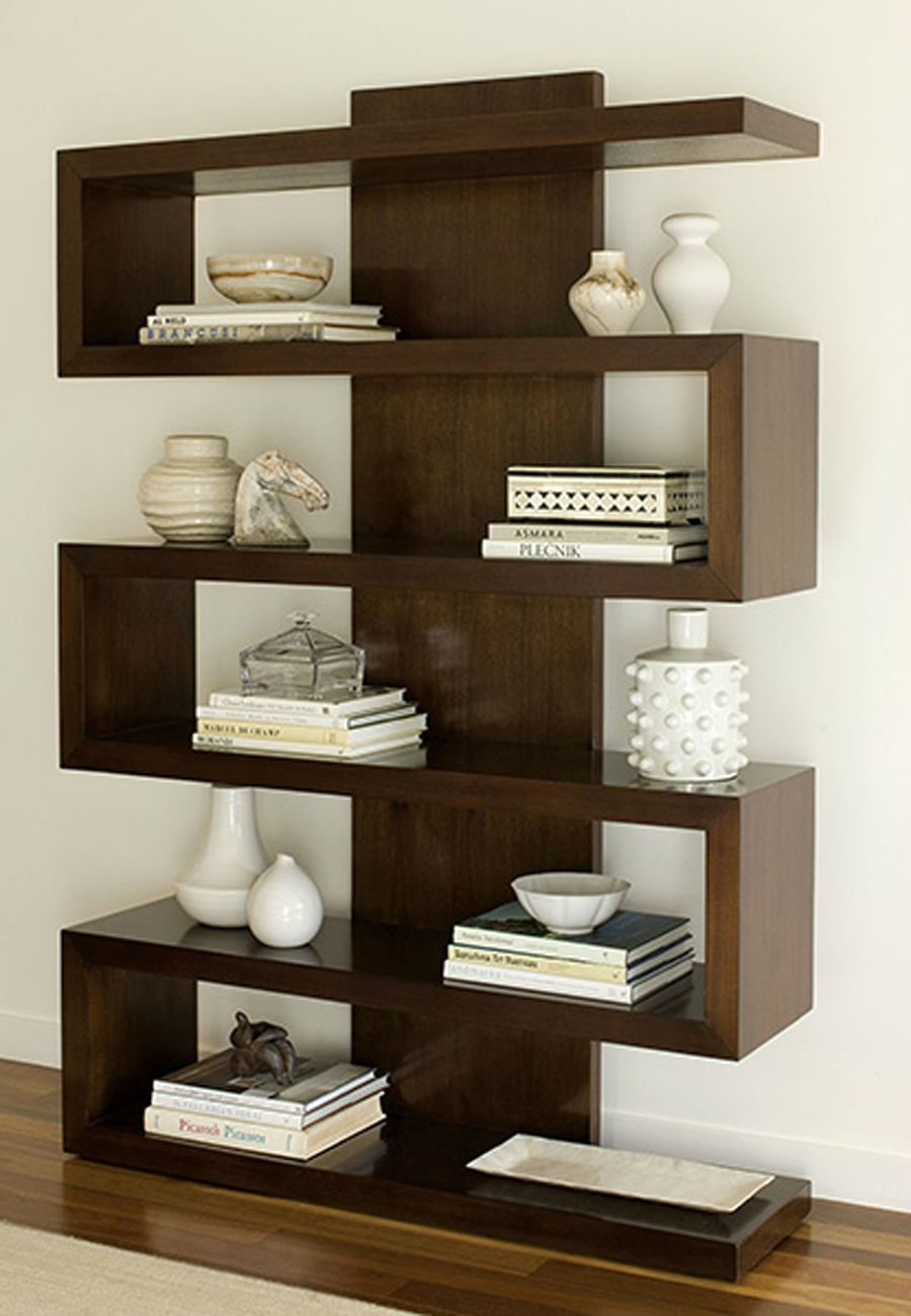 Contemporary Bookshelves In Contemporary Bookcases (#12 of 15)