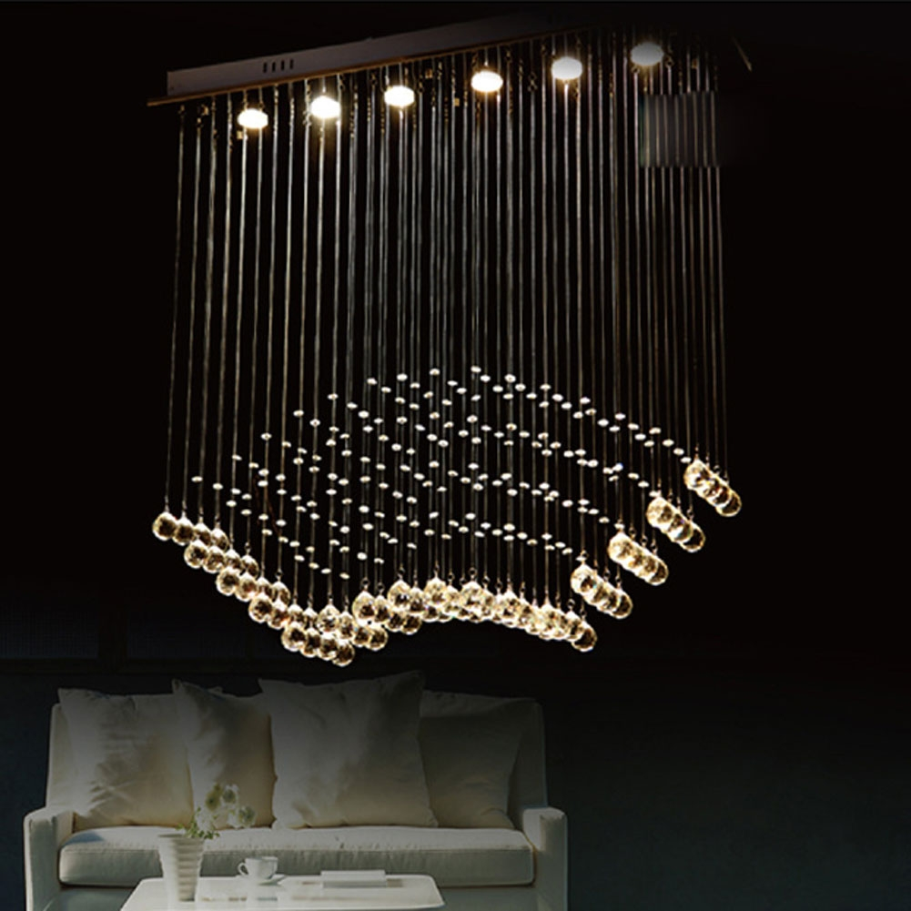 Contemporary Lighting Chandeliers Within Contemporary Large Chandeliers (#5 of 12)