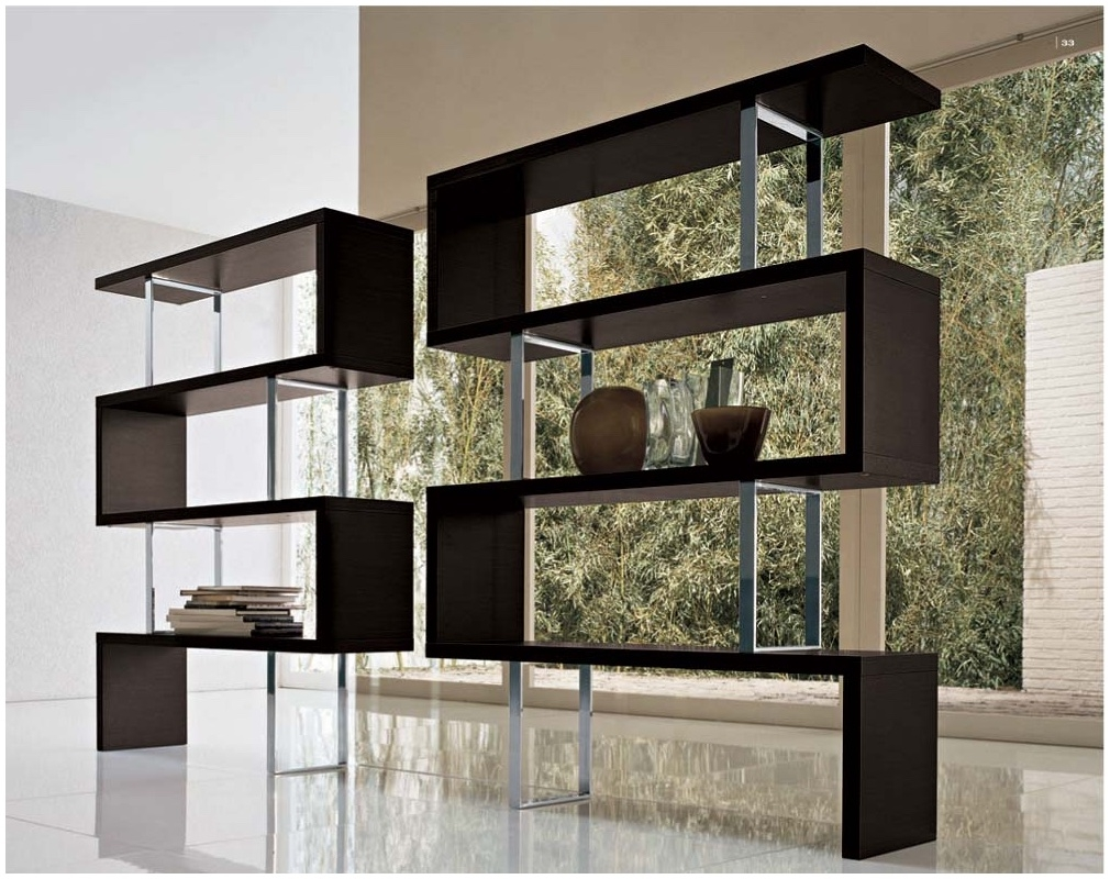 Contemporary Shelf Designs For Trendy House Modern Shelf Storage Inside Contemporary Bookcases (#13 of 15)