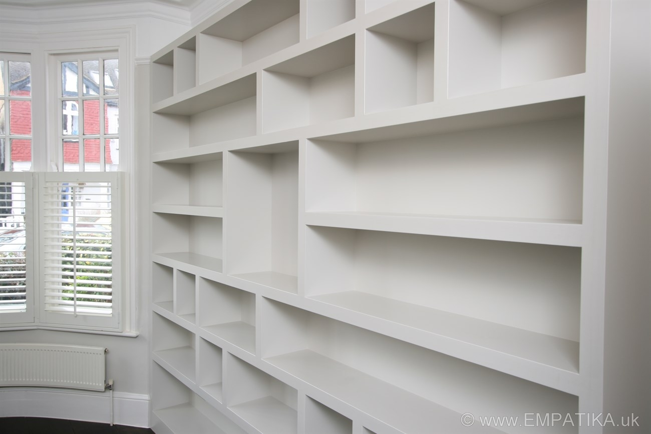 Contemporary Shelving With Regard To Fitted Shelving (#7 of 15)