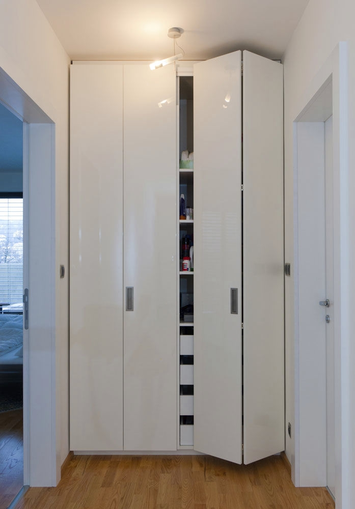 Inspiration about Contemporary Wardrobe Wooden Folding Door Lugi Pertaining To Folding Door Wardrobes (#4 of 15)