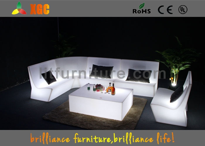 Control Led Light Sofa Light Furniture Sofa Set For Party With Sofas With Lights (#4 of 15)