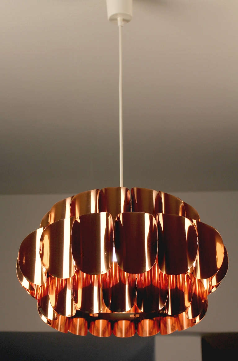 Popular Photo of Copper Chandeliers