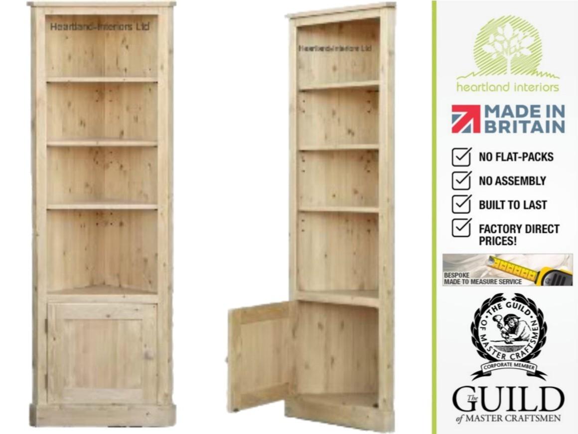 Corner Shelves Furniture With Regard To Corner Oak Bookcase (#4 Of 15)