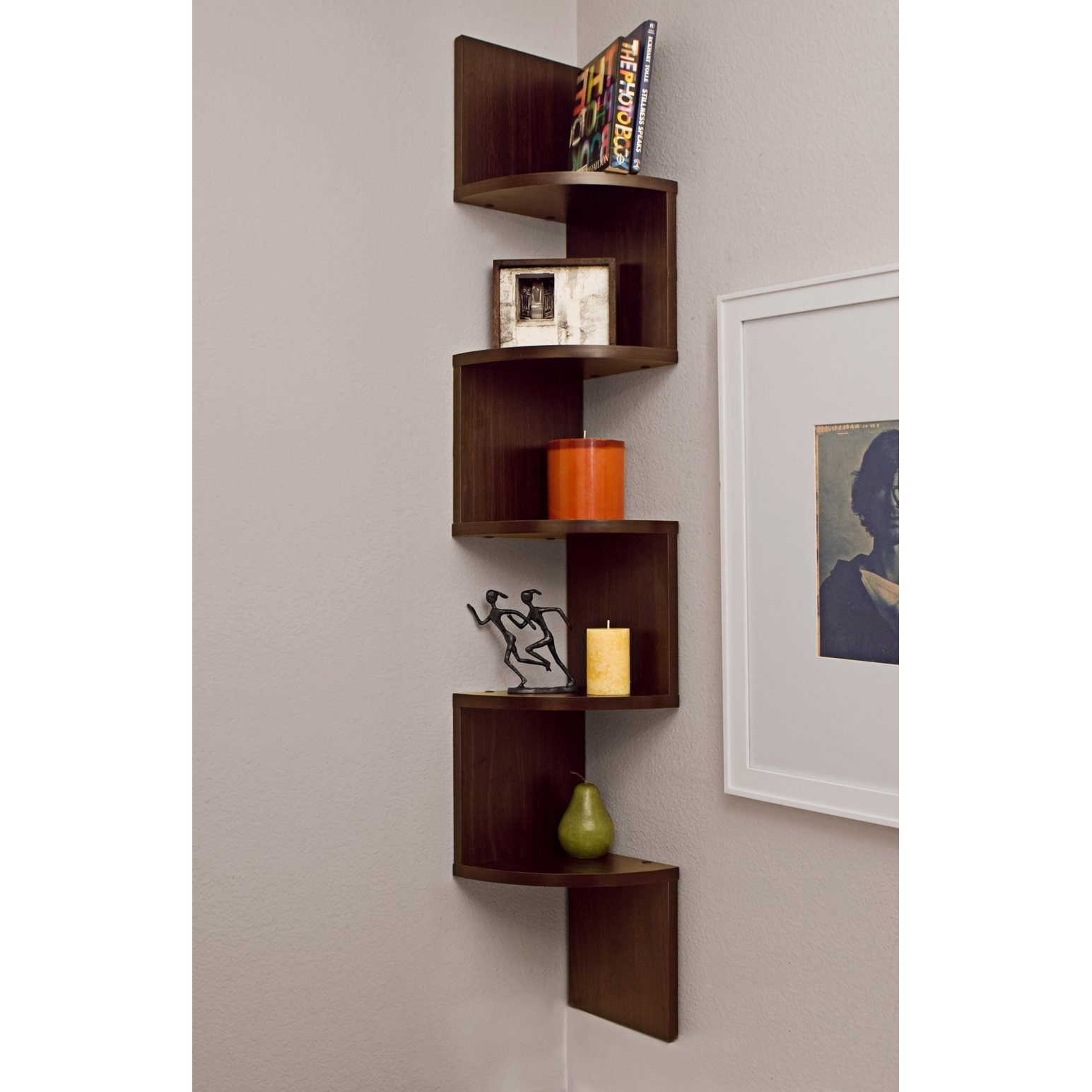 Corner Wall Shelves In Wall Shelves (#3 of 12)