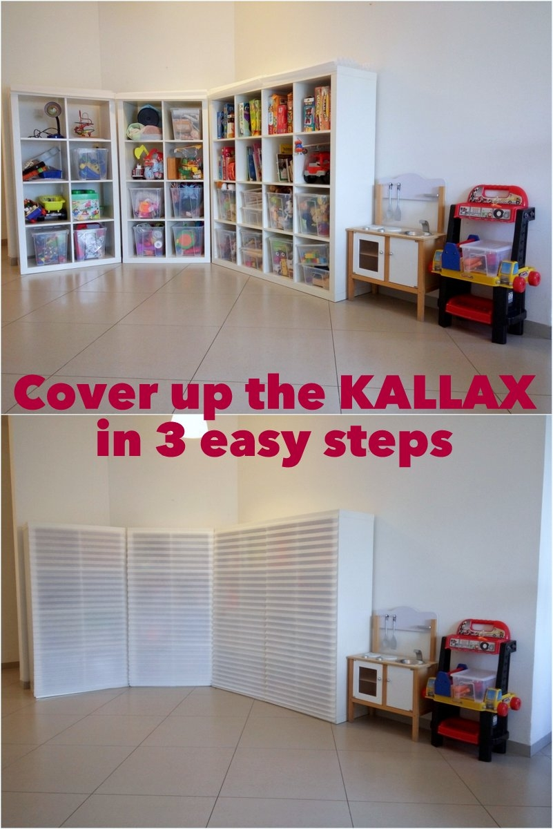 Cover Up The Kallax In 3 Easy Steps Ikea Hackers Ikea Hackers Intended For Bookcase Cover (#6 of 15)