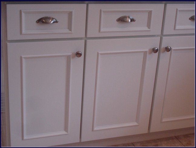 Popular Photo of White Kitchen Cupboard Doors