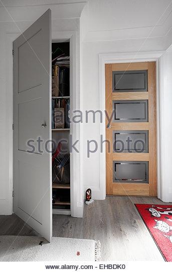 Cupboard Door Stock Photos Cupboard Door Stock Images Alamy Inside Hallway Cupboard Doors (#8 of 15)