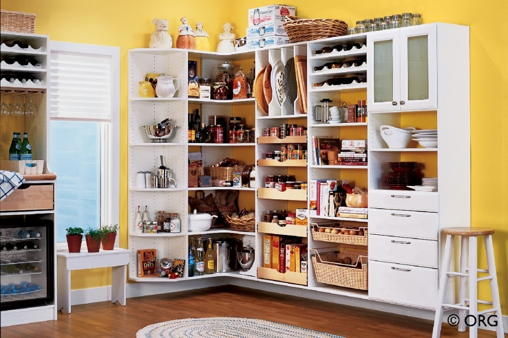 Cupboard Organizers Simple Kitchen Ideas With Light Wooden In Cupboard Organizers (#9 of 15)