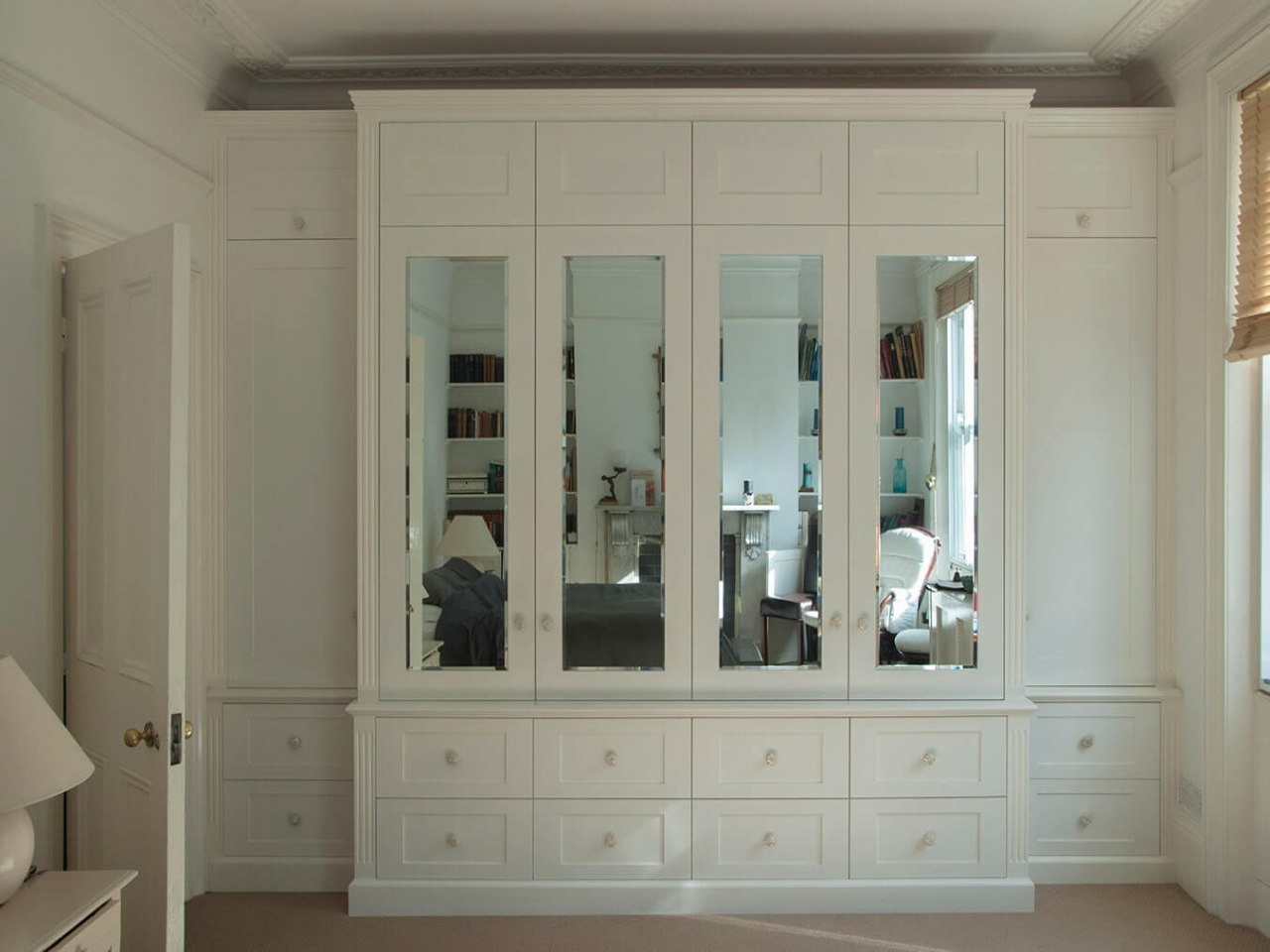Cupboards Mirror Modern Bedroom Wardrobes Fitted Bedrooms In Drawers For Fitted Wardrobes (#4 of 15)