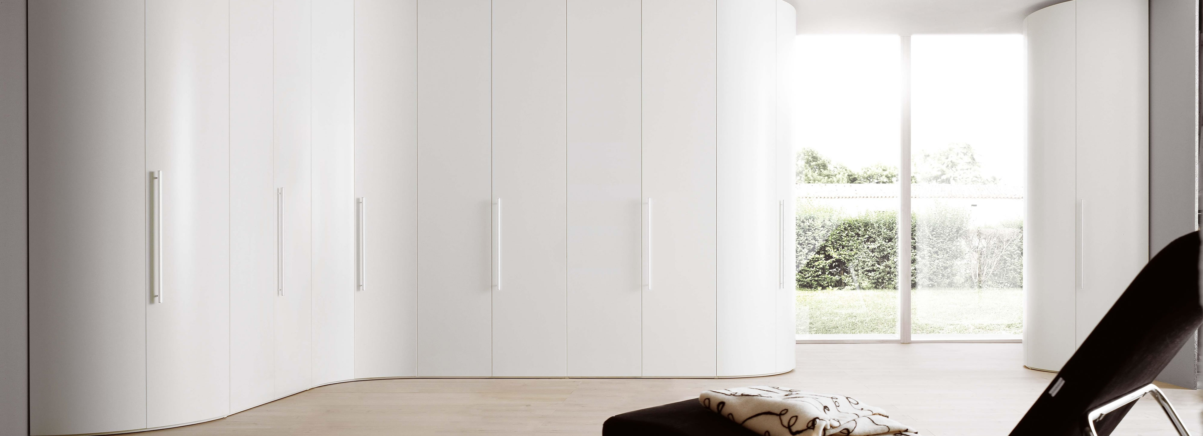 Curved Bedroom Wardrobes Design Install Surrey Raycross Pertaining To Curved Wardrobe Doors (View 13 of 15)