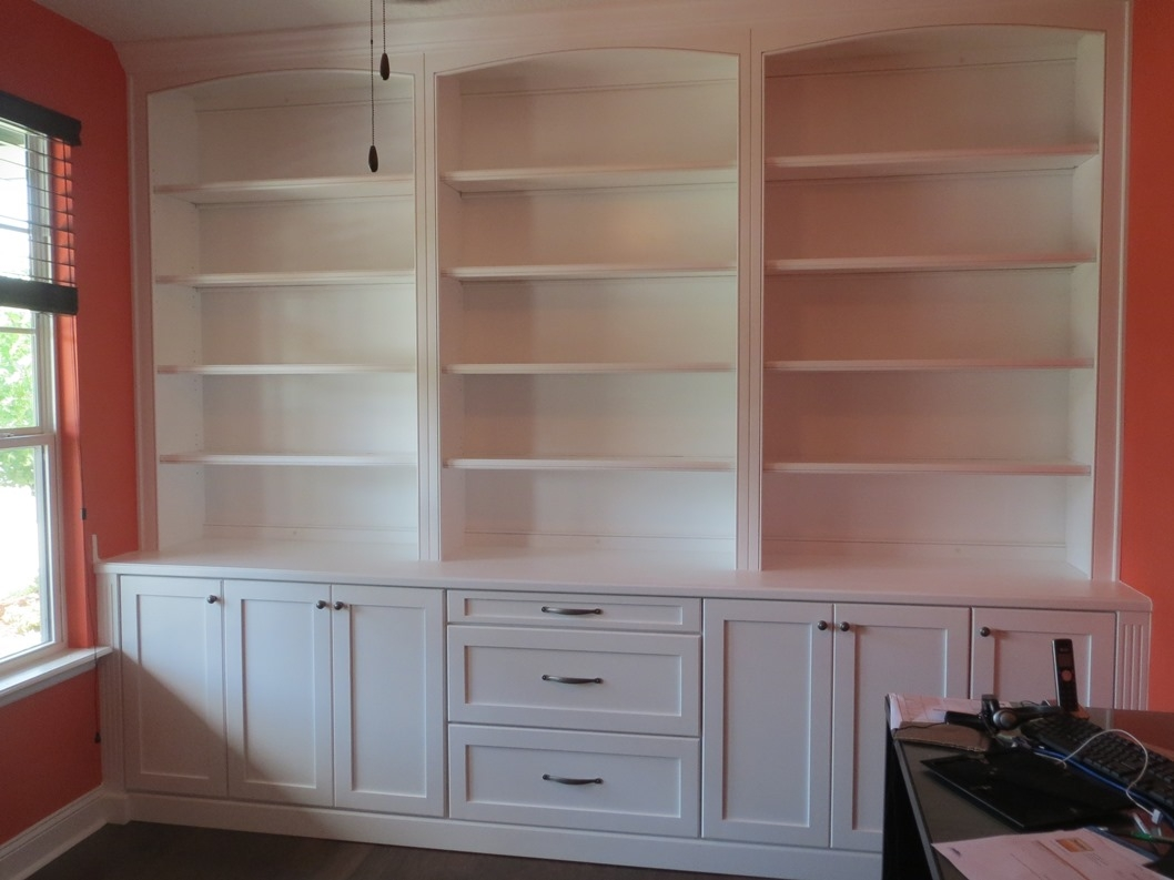Custom Built In Bookcases Wall Units Or Cabinets Nyc Brooklyn Within Built In Cupboard Shelving (View 9 of 15)