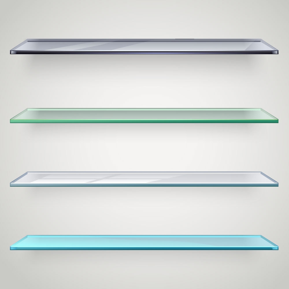 Custom Glass Shelves For A Fresh Look Ace Glass Pertaining To Glass Shelves (#3 of 12)