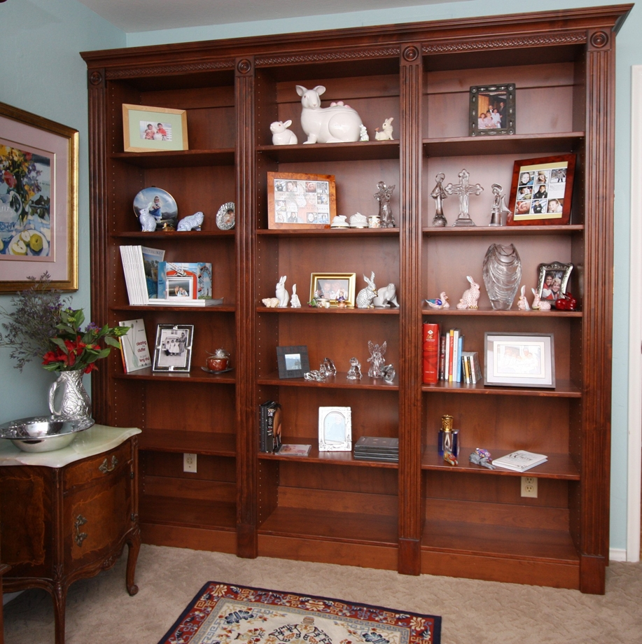 Custom Home Media Center Designs Classy Closets In Classic Bookshelves (#10 of 15)