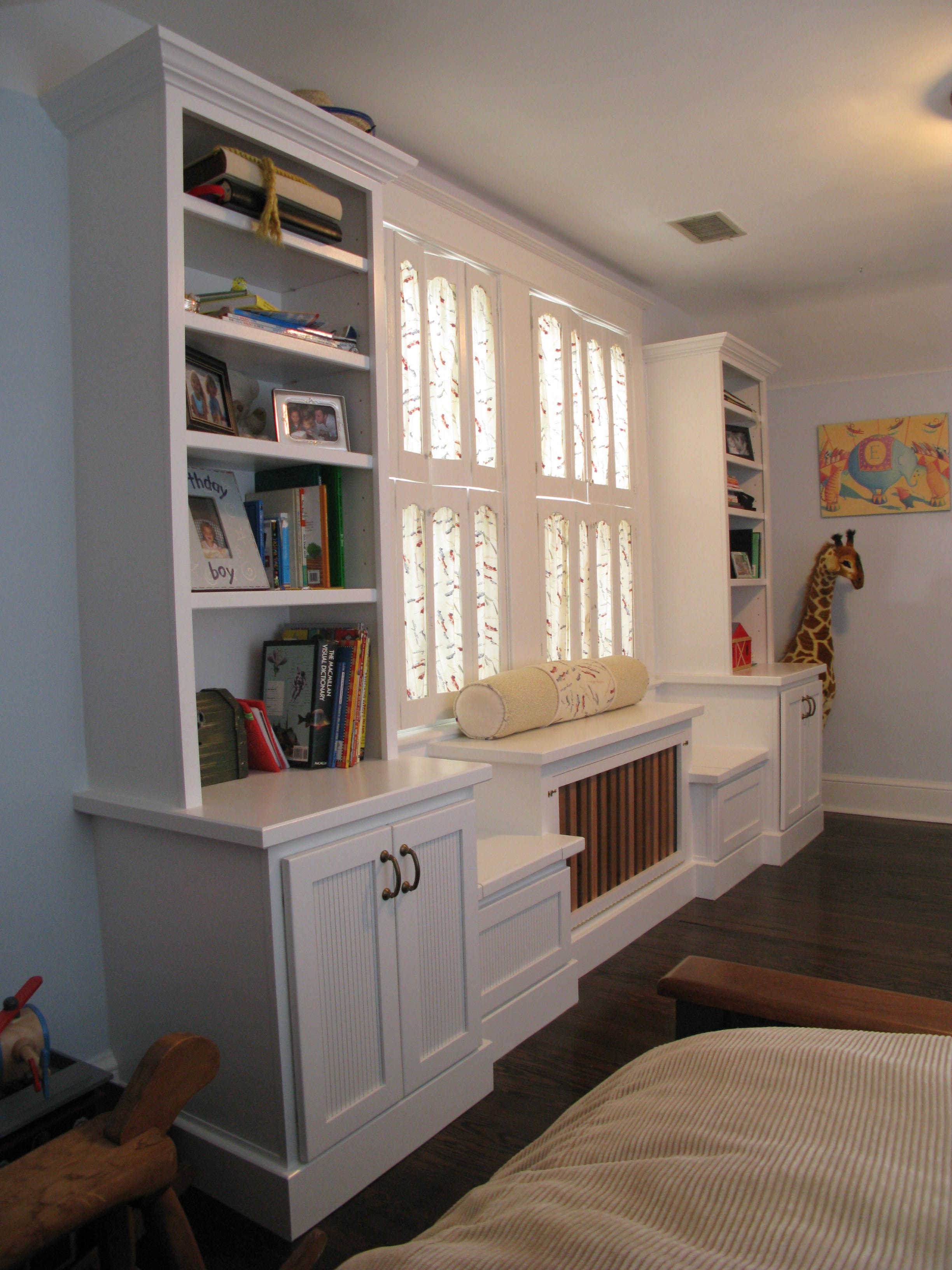 Custom Home Renovations Wasington Dc Archive Four Brothers Llc For Radiator Covers And Bookcases (#2 of 15)