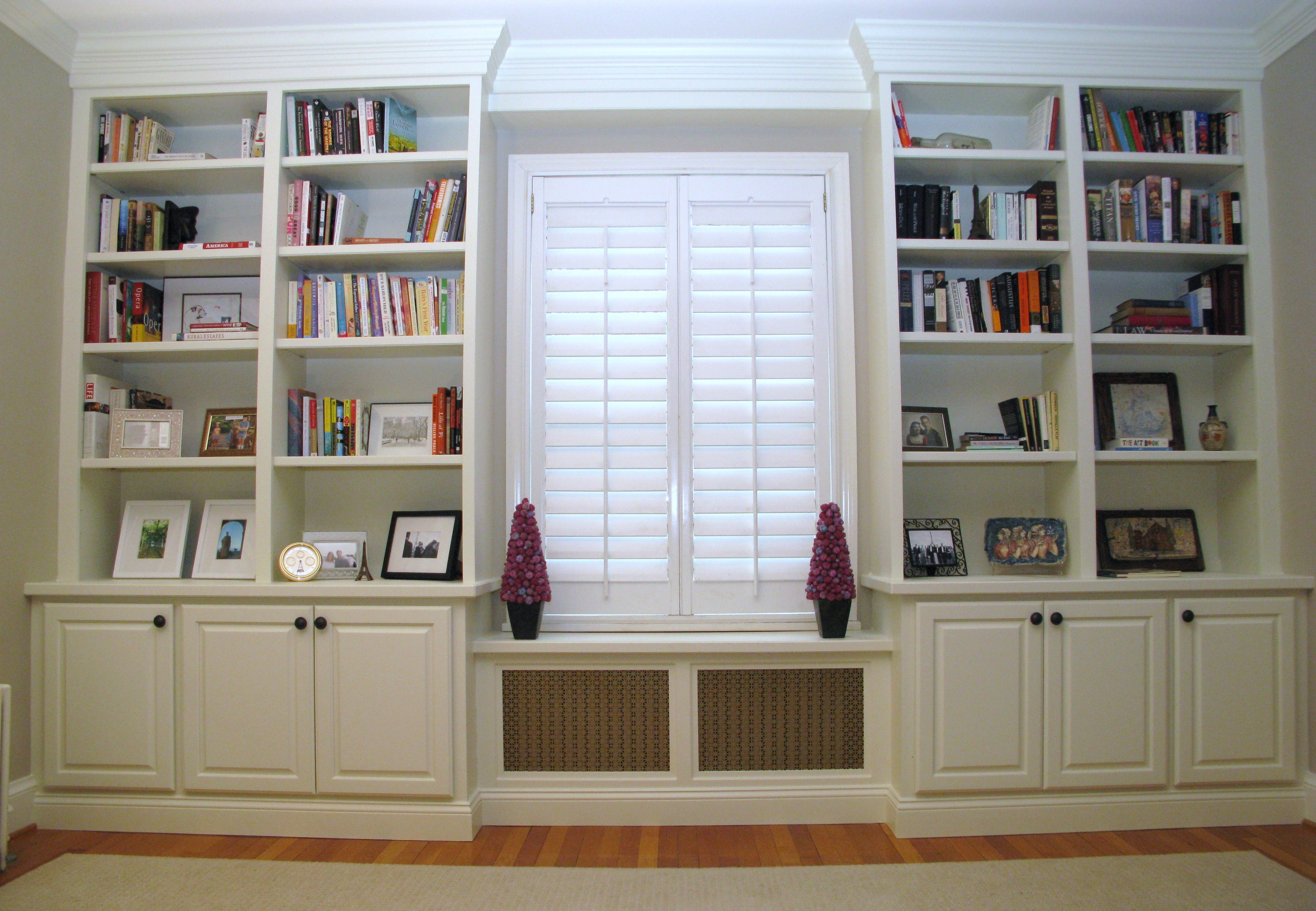 Custom Home Renovations Wasington Dc Archive Four Brothers Llc Regarding Radiator Cover Bookshelf (#7 of 15)