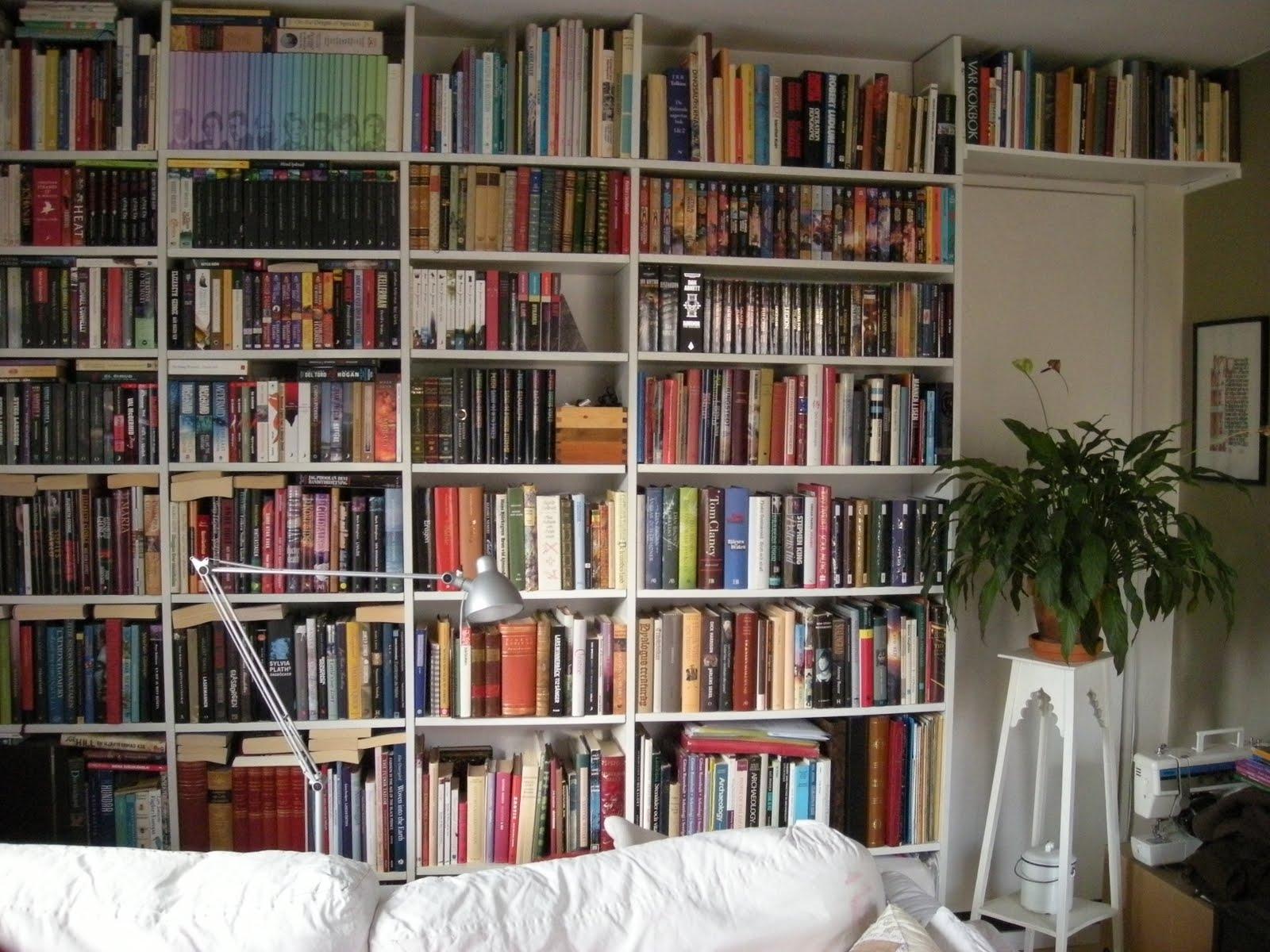 ideas of custom made bookshelf - custom made bookshelf wall ikea hackers ikea hackers with regard to custommade bookshelf (