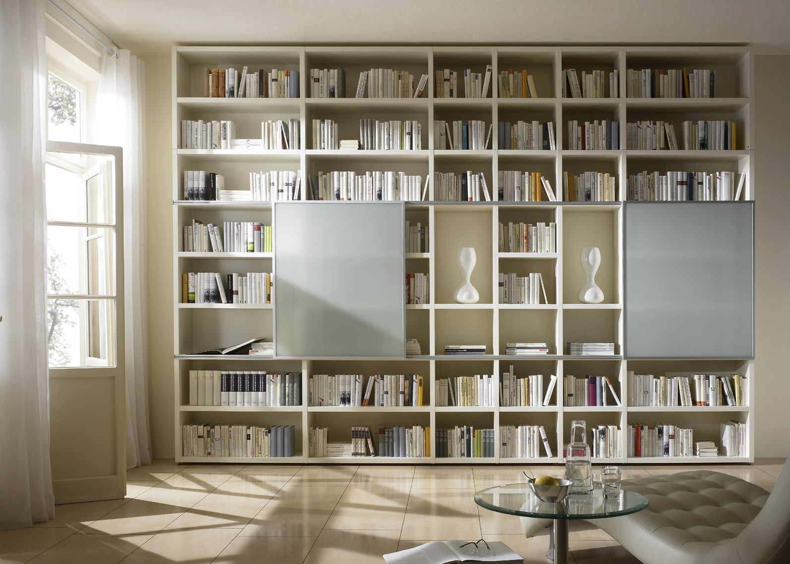 Custom Made Bookshelves Idi Design In Fitted Bookcase (#6 of 15)