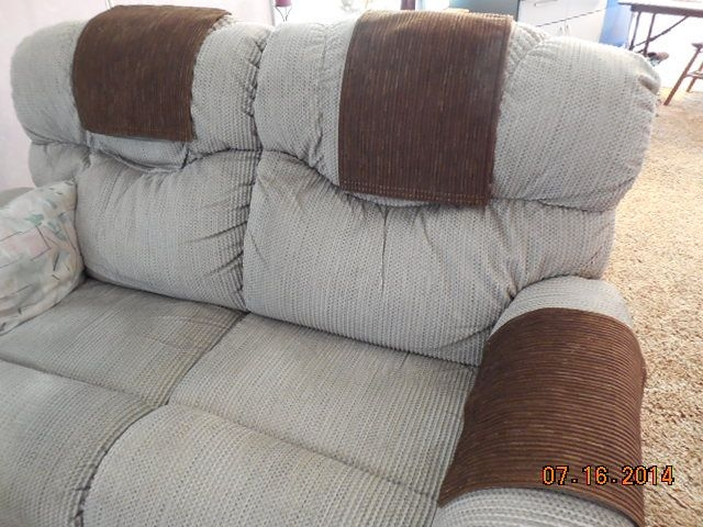 Custom Made Chair Headrest Arm Covers Available Www With Regard To Arm Covers For Sofas (#7 of 15)