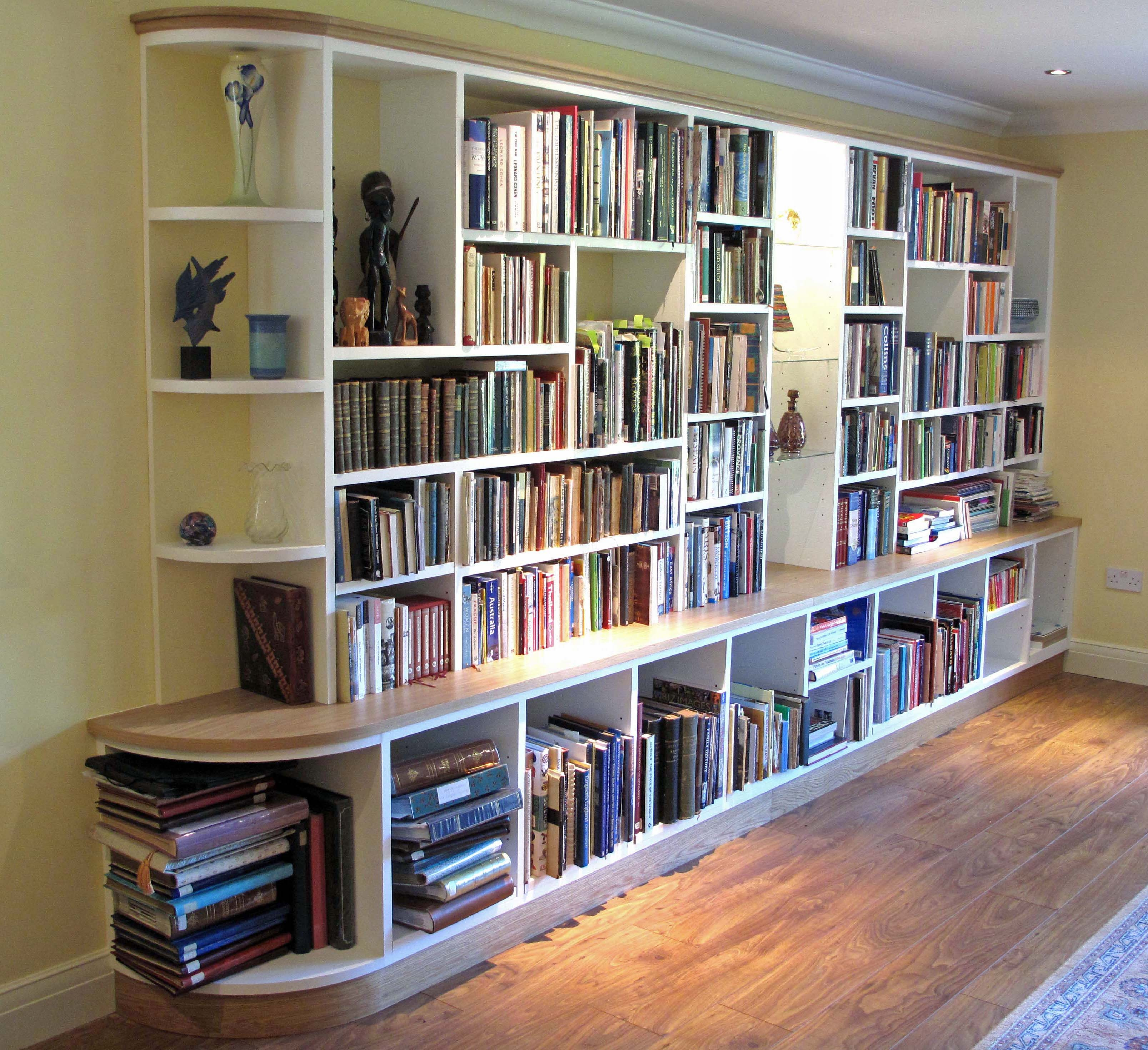 Custom Made Fitted Bookcases Fitted Furniture Shelving Solutions Regarding Fitted Bookcases (#11 of 15)