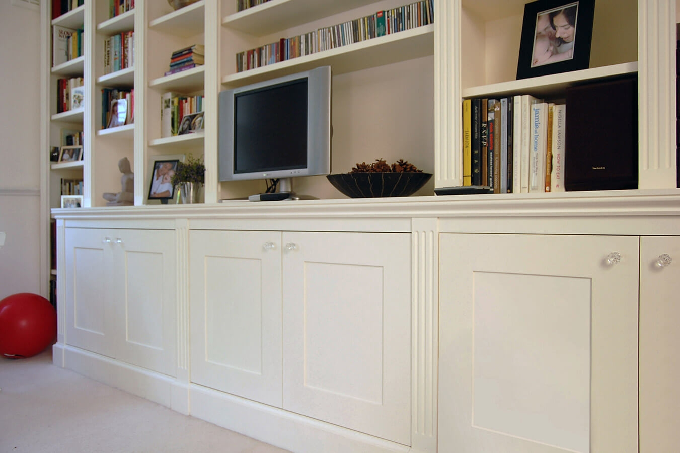 Custom Made Living Rooms Display Tv And Media Units With Fitted Wall Units Living Room (View 7 of 15)