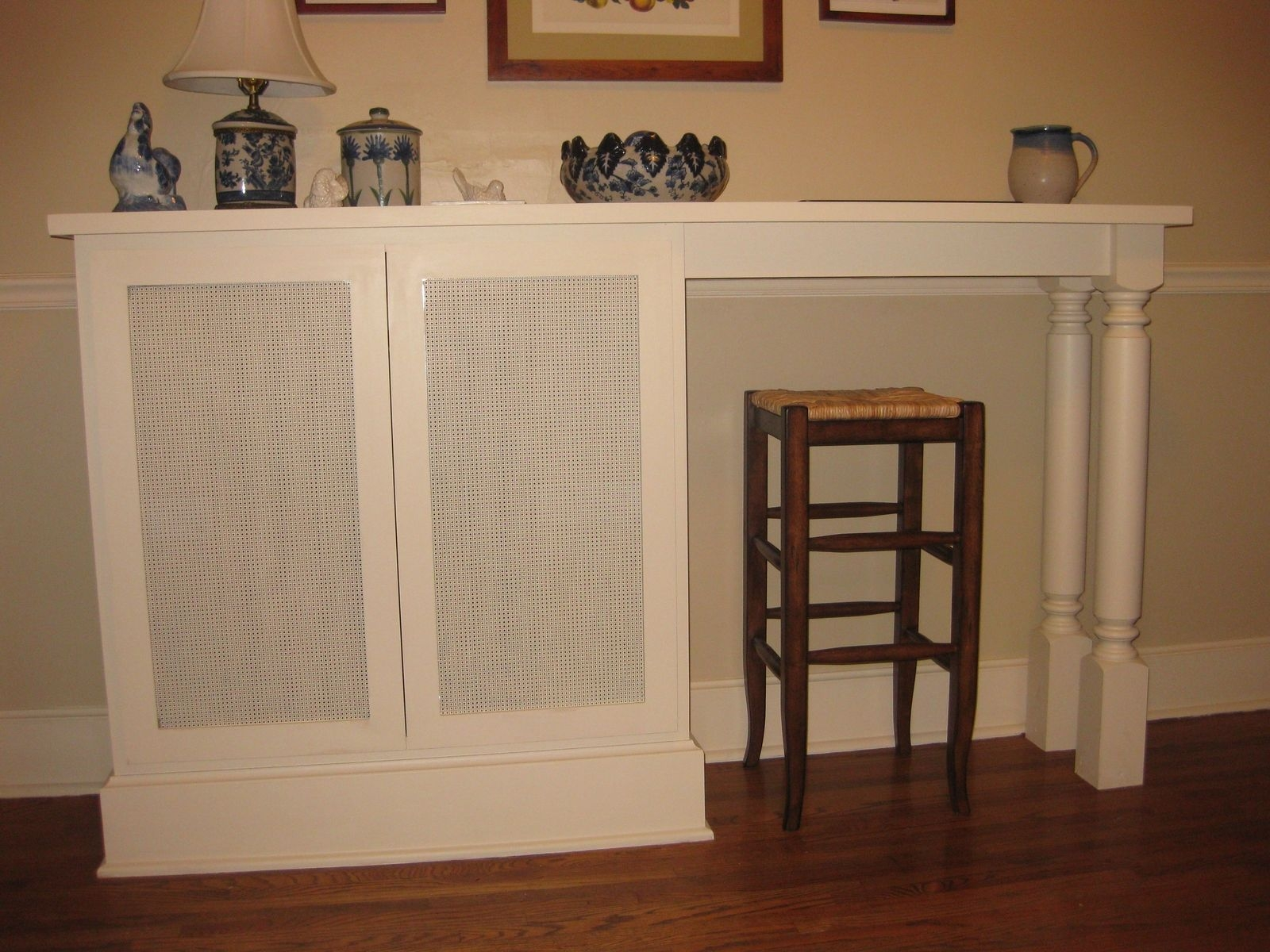 Custom Made Radiator Cover Cristofir Bradley Cabinetry With Radiator Covers And Bookcases (Image 3 of 15)
