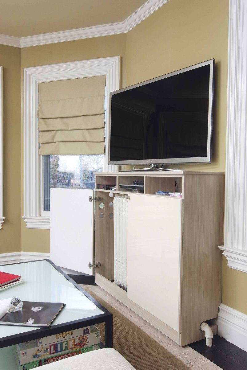 Custom Made Radiator Cover Media Cabinet Closet Solutions In Radiator Cover Tv Stand (View 9 of 15)