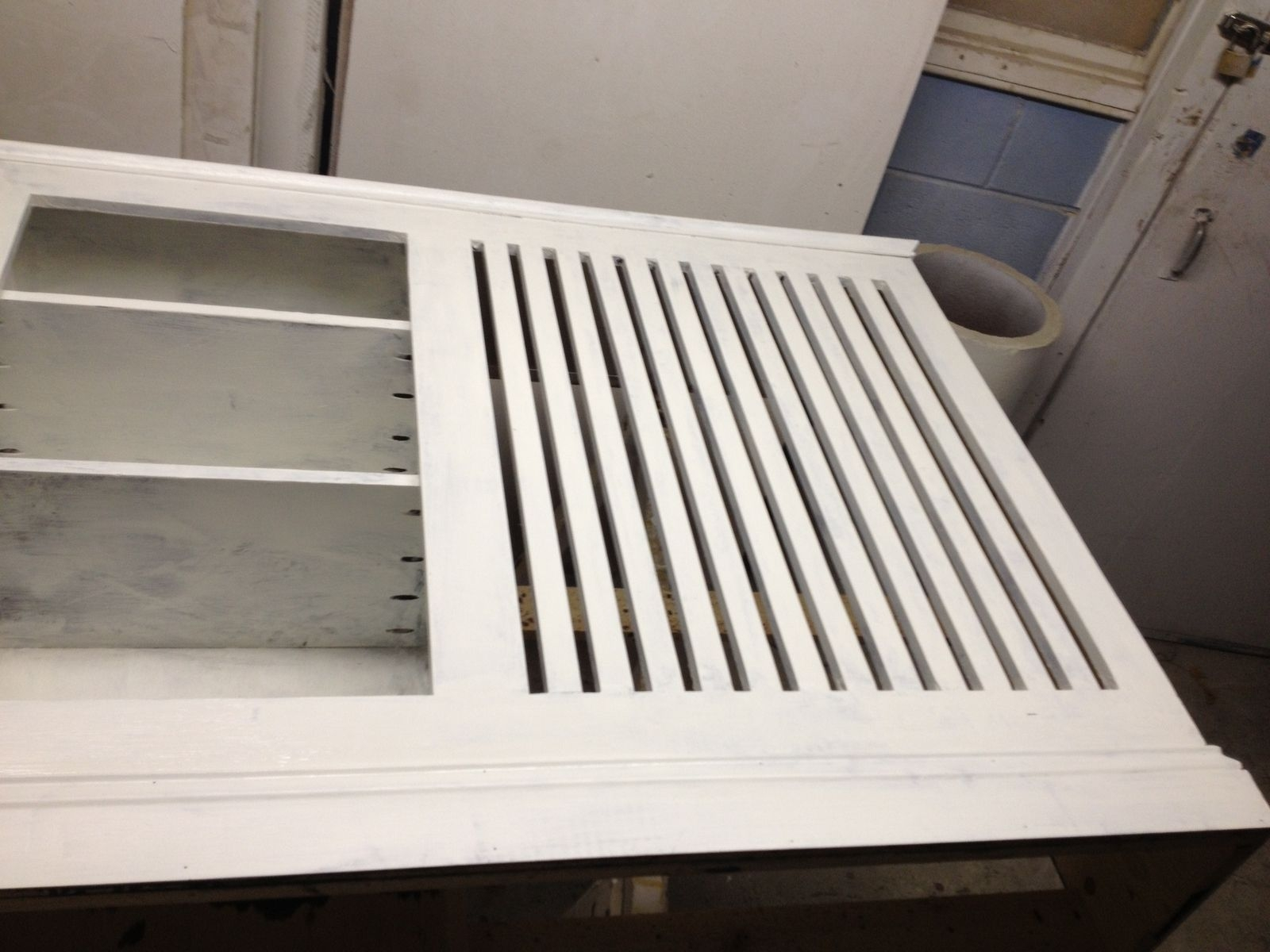 Custom Made Radiator Cover With Attached Bookshelf Pertaining To Radiator Cover Bookshelf (#8 of 15)