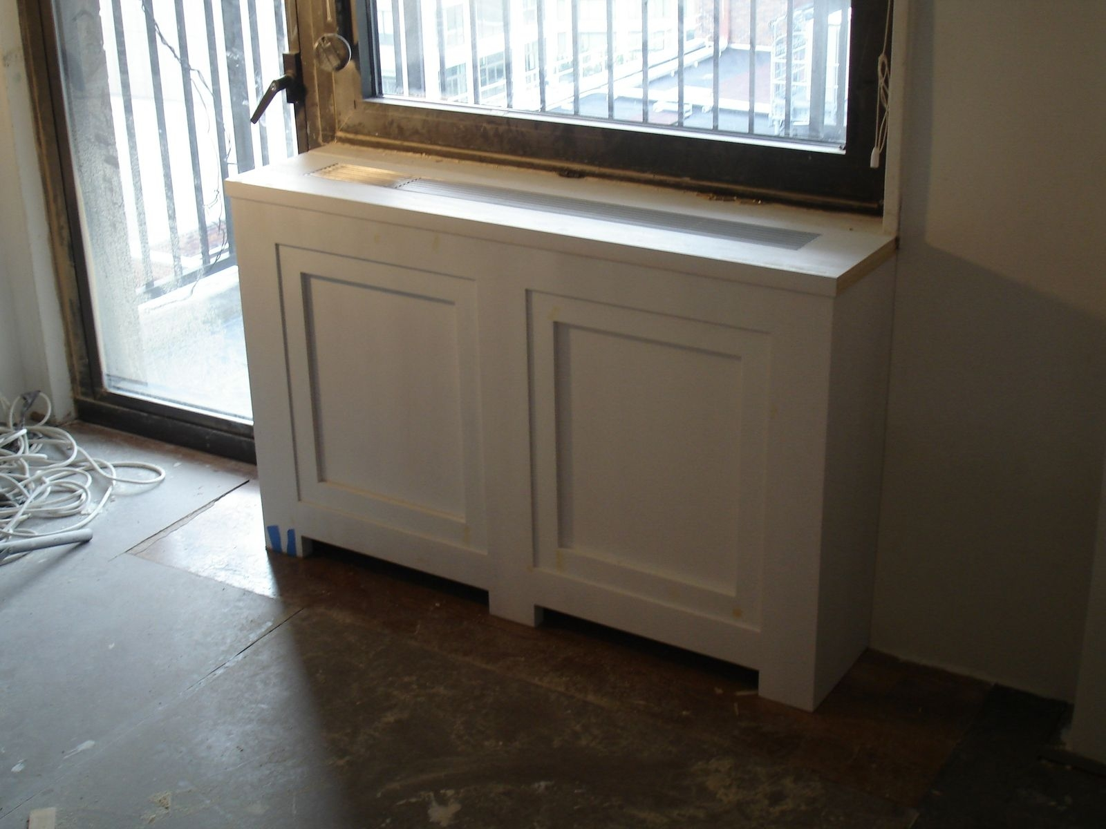 Custom Made Radiator Cover With Attached Bookshelf With Radiator Cover Bookcase (#4 of 15)