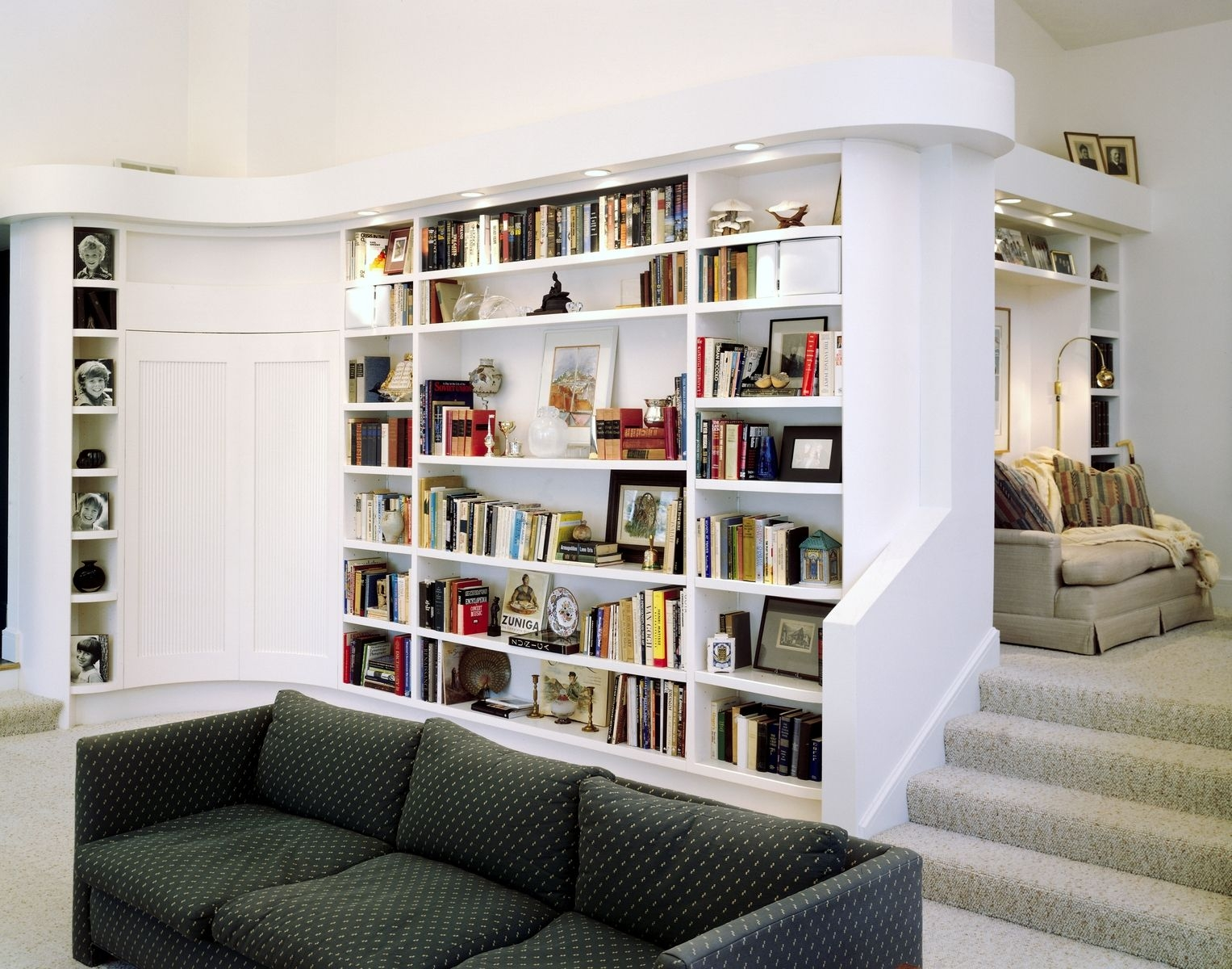 Custom Modern Bookcases And Wet Bar Perfect Design Cabinetworks With Regard To Modern Bookcases (#8 of 15)