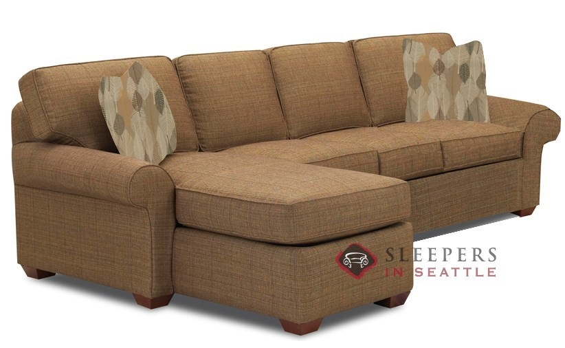 Customize And Personalize Seattle Chaise Sectional Fabric Sofa For Sectional Sleeper Sofas With Chaise (#7 of 15)