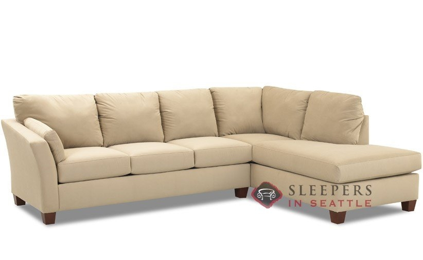 Customize And Personalize Sienna Chaise Sectional Fabric Sofa For Sectional Sleeper Sofas With Chaise (#8 of 15)