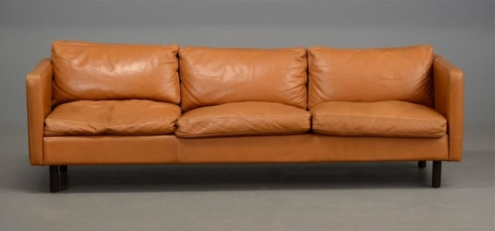 Danish Tan Leather Chairlong Danish Leather Sofa In Light Tan For Light Tan Leather Sofas (View 15 of 15)
