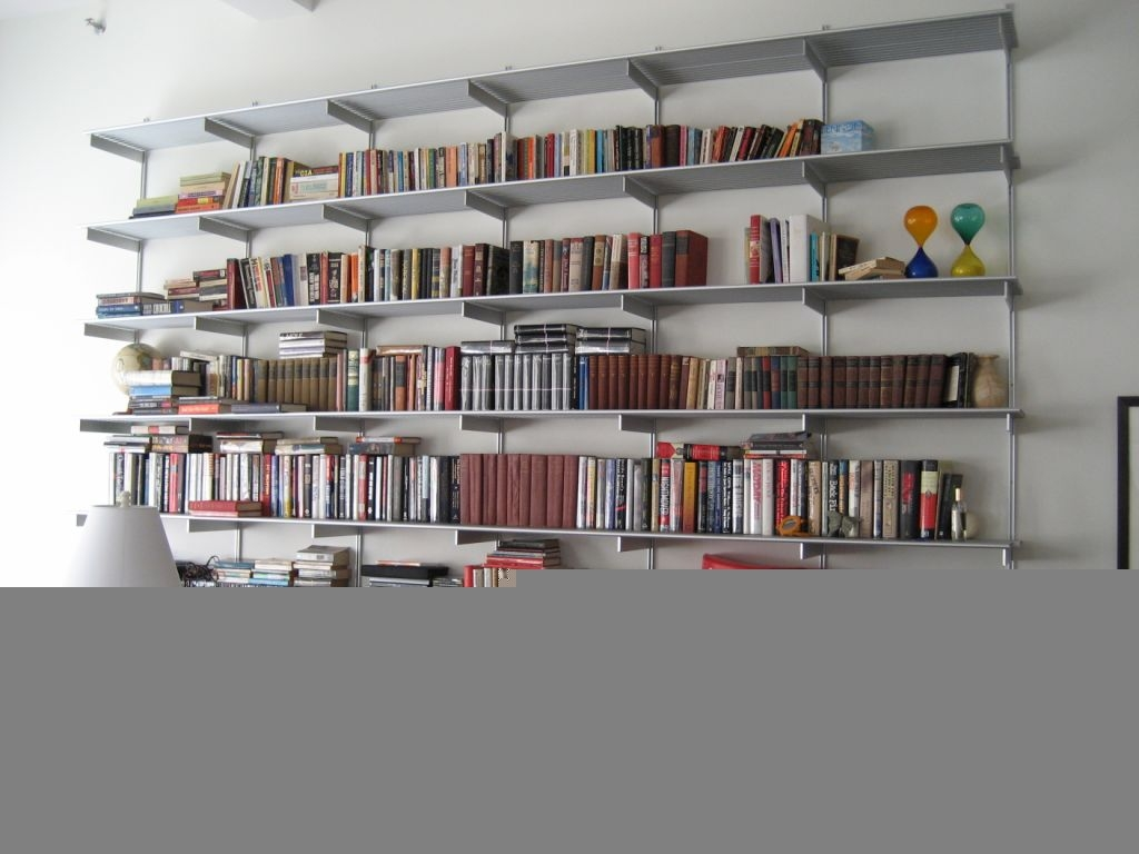 15 best ideas of home library shelving system for Decor systems