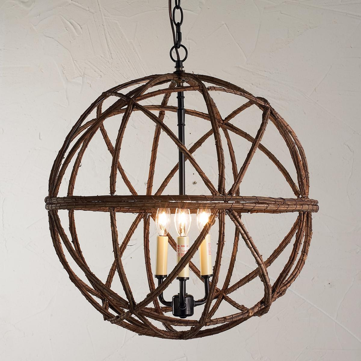 Decor Sphere Chandelier Is One Of The Best Light Fixture And Pertaining To Metal Sphere Chandelier (#5 of 12)