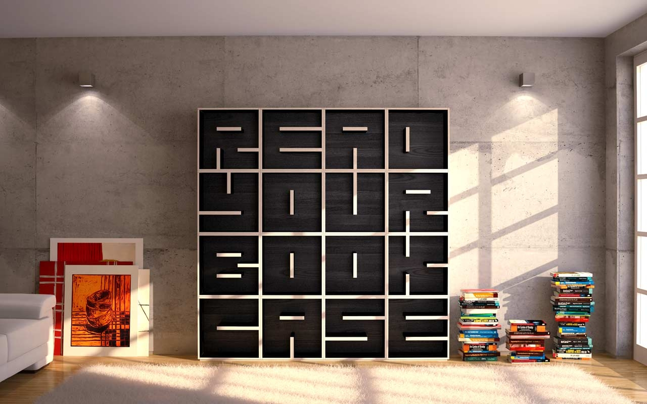 Decoration Ideas Simple And Neat Design Ideas Using Freestanding In Free Standing Bookcases (#7 of 15)