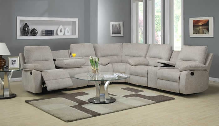 Decoration Recliner Sectional Sofa Home Decor Ideas Intended For Recliner Sectional Sofas (#4 of : sectional sofas ideas - Sectionals, Sofas & Couches