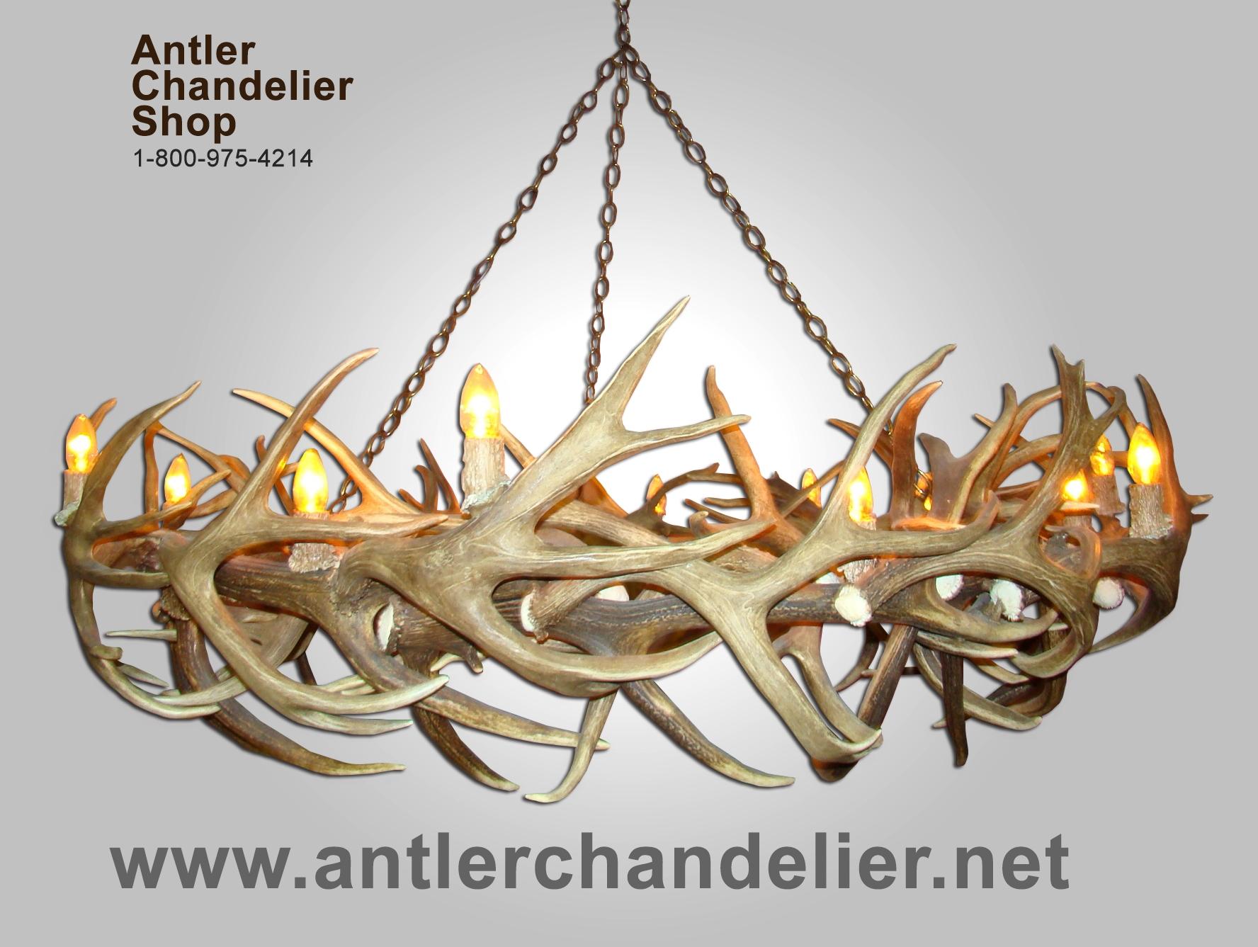 Deerantlerchandelier Xl Antler Chandeliers Antler Chandelier In Antler Chandeliers And Lighting (#6 of 12)