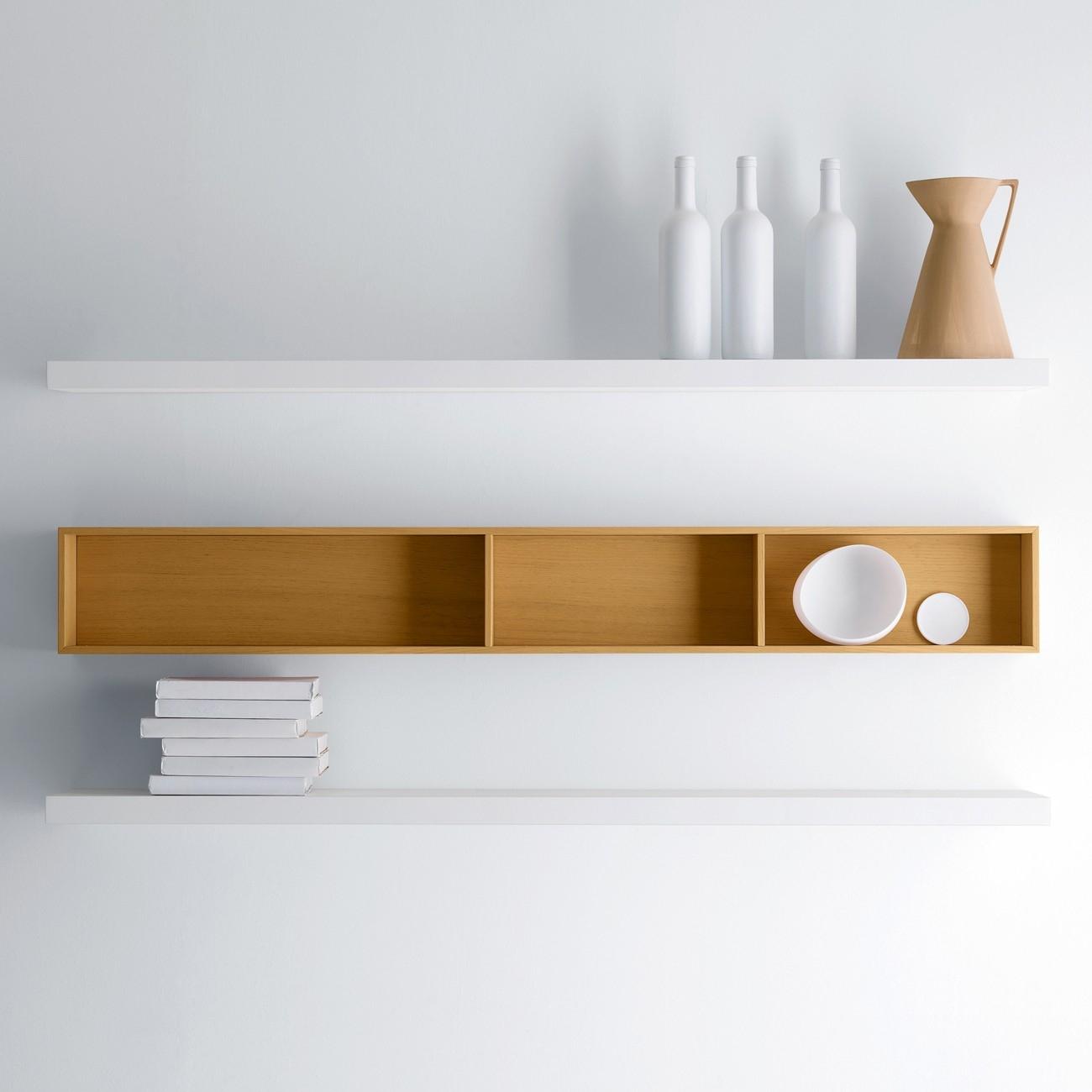Design Chic Wall Shelves Designs Images Brown Wooden Wall Shelf Inside Wall Shelf (View 2 of 12)