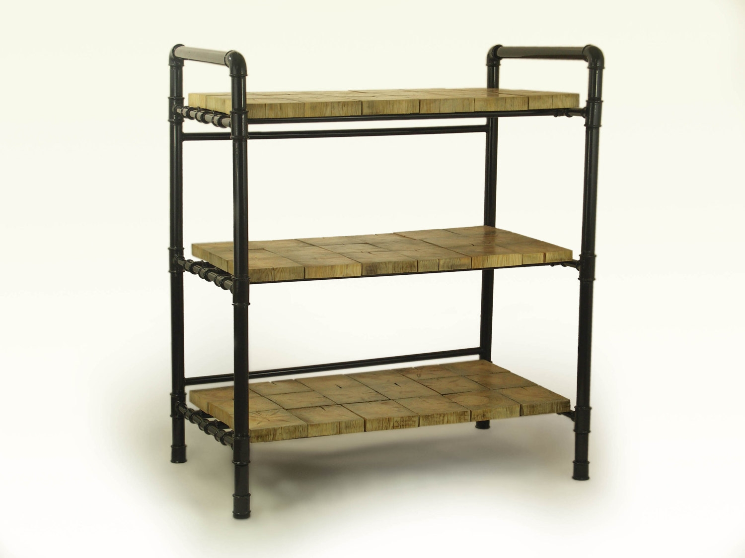 Design Wonderful Galvanised 4 Shelf Unit Galvanised Boltless Intended For Free Standing Shelving Units Wood (View 4 of 15)