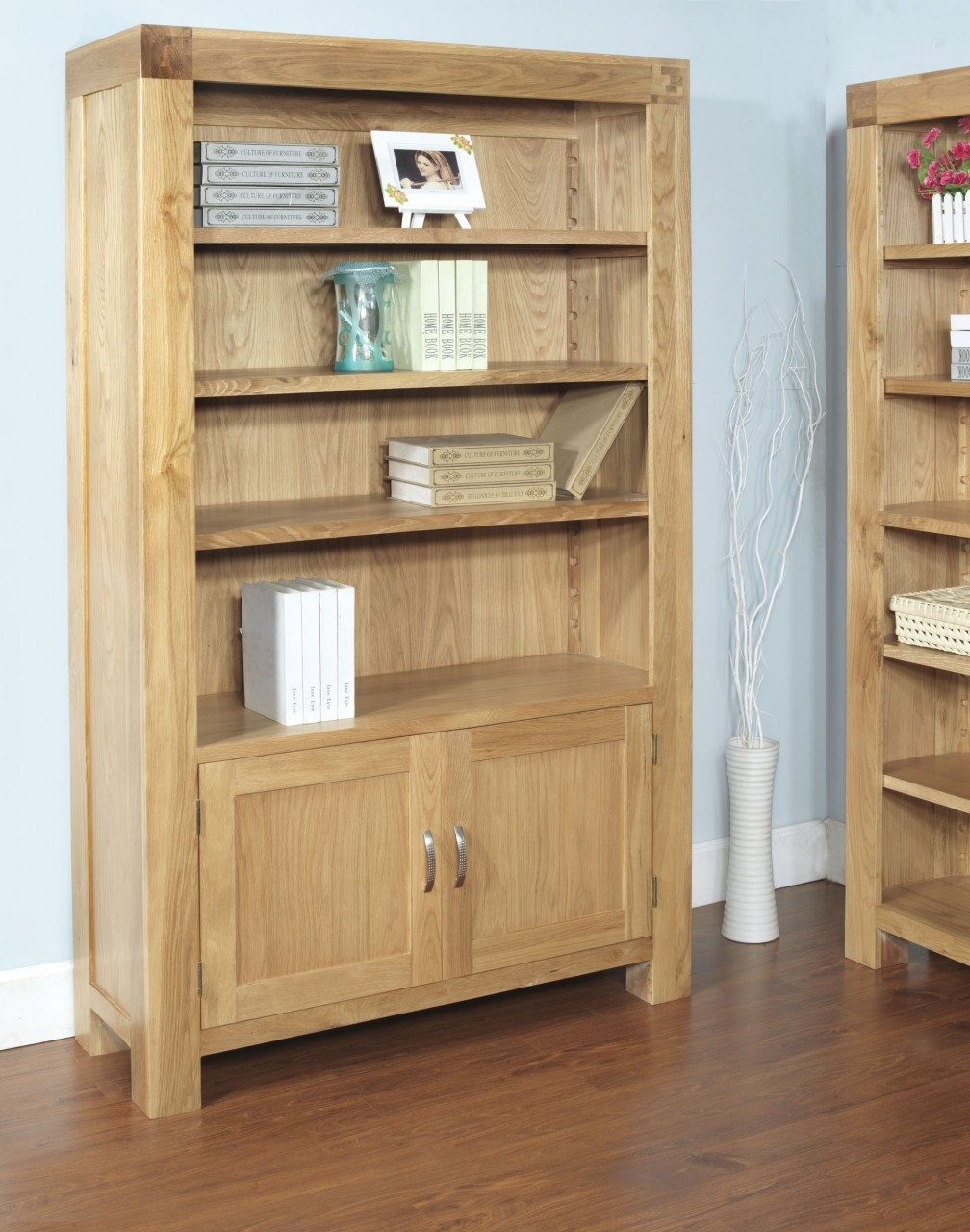 Design Wondrous Solid Oak Shelving Uk Shelf Design Fascinating For Large Solid Wood Bookcase (#5 of 15)