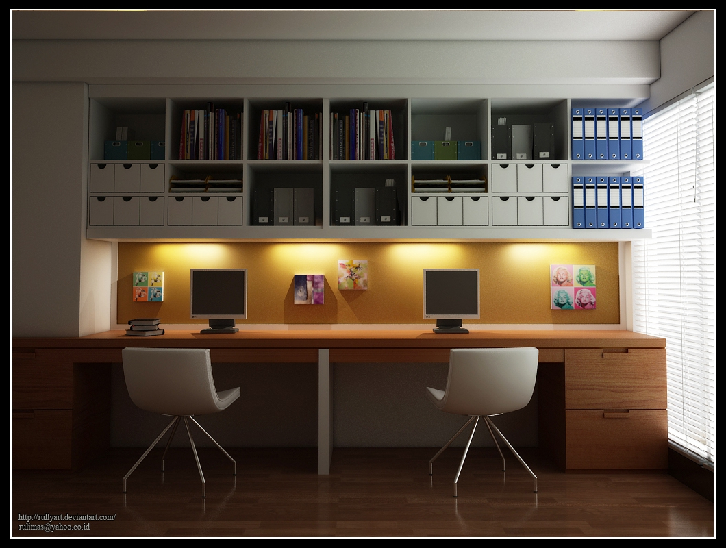 Design Your Home Types Or Concept For Your Home Office And Regarding Study Wall Unit Designs (#5 of 15)