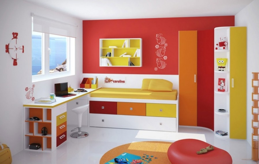 Designer Kids Bedroom Furniture Within Childrens Bedroom Wardrobes (#8 of 15)