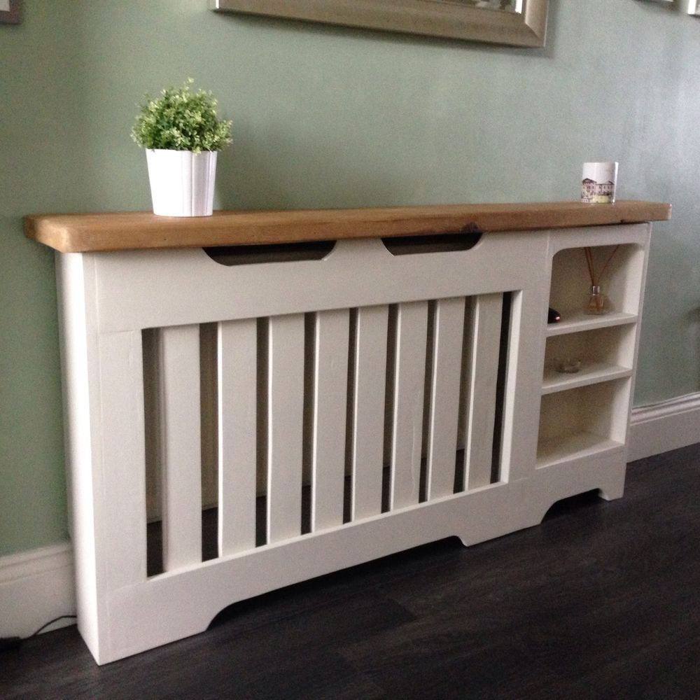 Details About Radiator Coverdisplaybookcase Bespoke Radiators With Regard To Bookcase Cover (#9 of 15)