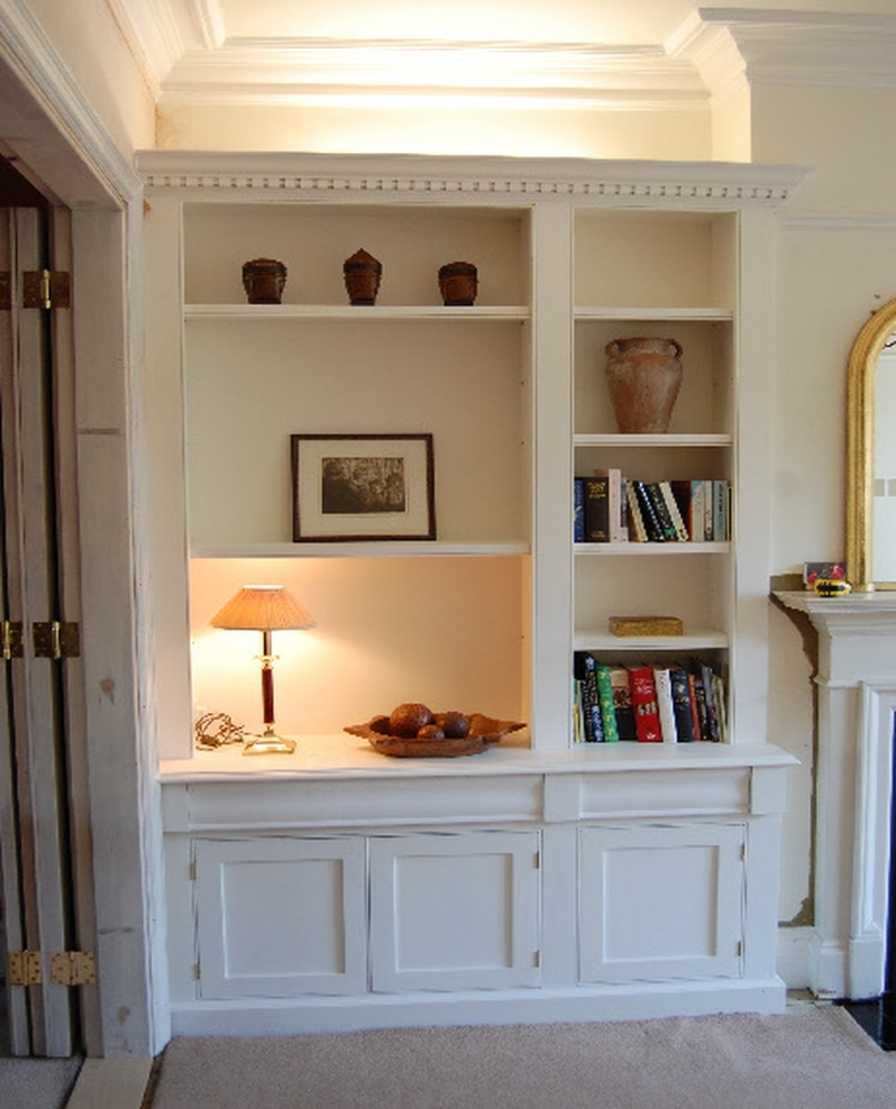 Dining Room Fitted Shelving And Cupboards Carpentry Joinery For Fitted Shelves And Cupboards (View 8 of 12)
