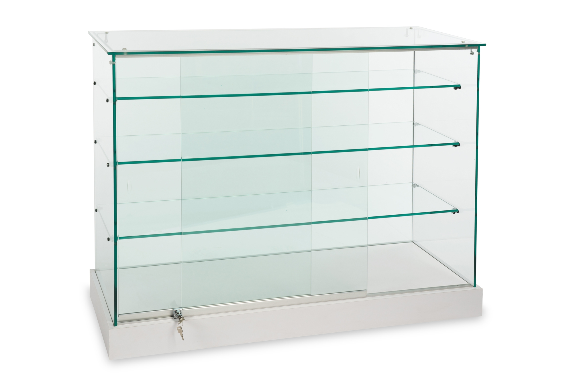 Display Cases Showcases Free 3d Planning Showcasesource With Wall Mounted Glass Display Shelves (#3 of 15)