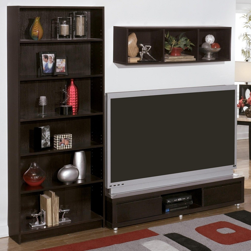 Diy Bookcase Tv Stand Home Design Ideas Throughout Bookcase Tv Stand (#6 of 15)