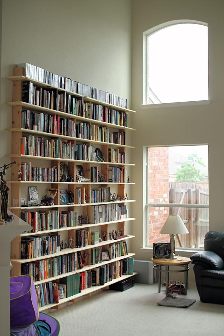 Diy Bookshelves Rc Willey Blog Regarding Whole Wall Bookshelves (View 13 of 15)